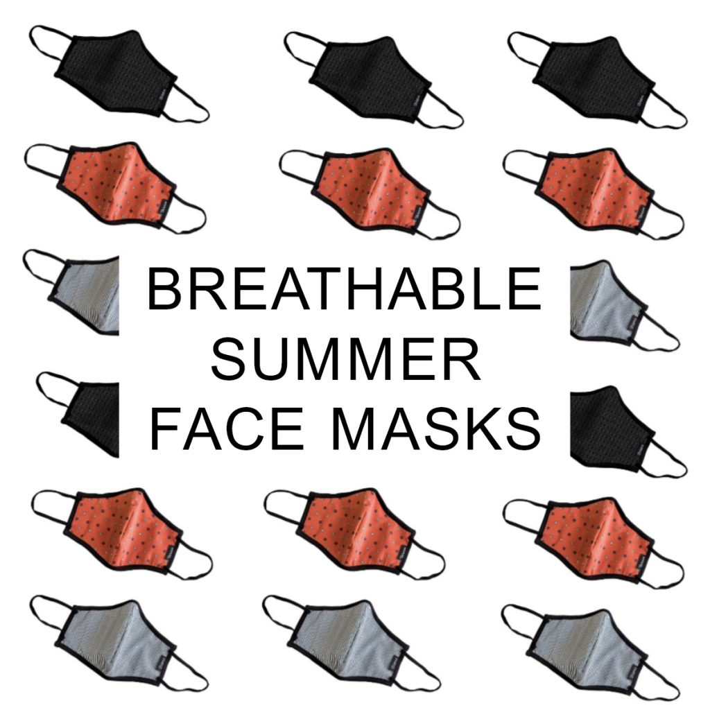 Breathable Summer Face Masks That You Need Right Away