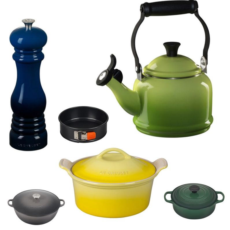 Le Creuset kitchenwear
