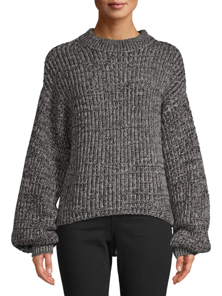 Time and Tru Women's Mock Neck Pullover