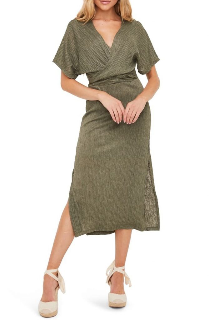 This image has an empty alt attribute; its file name is Phoebe-V-Neck-Midi-Dress-669x1024.jpg