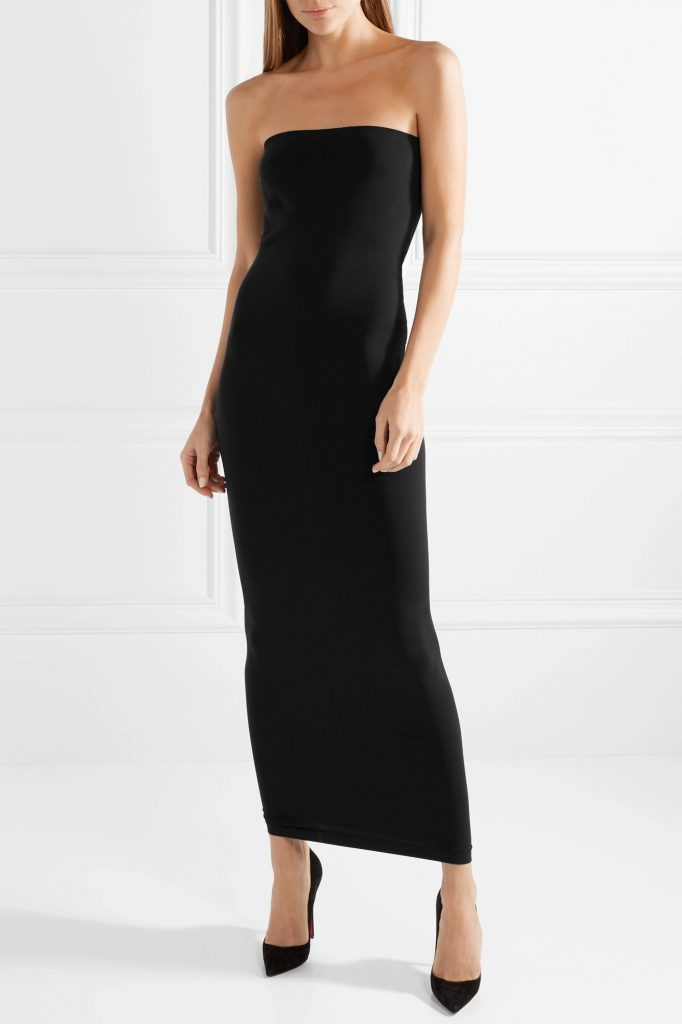 This image has an empty alt attribute; its file name is Fatal-strapless-stretch-jersey-maxi-dress-682x1024.jpg