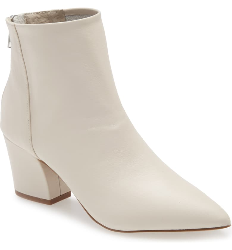 This image has an empty alt attribute; its file name is Mistin-Pointed-Toe-Bootie.jpeg