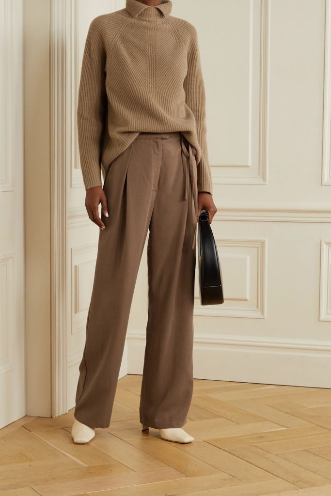This image has an empty alt attribute; its file name is Sonia-belted-pleated-TENCEL-wide-leg-pants-683x1024.jpg