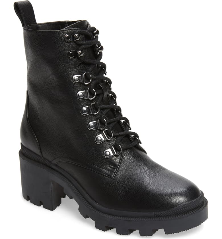 This image has an empty alt attribute; its file name is Taylor-Block-Heel-Combat-Boot-2.jpeg