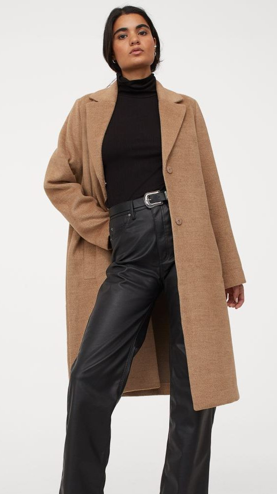 H&M Knee-Length Coat