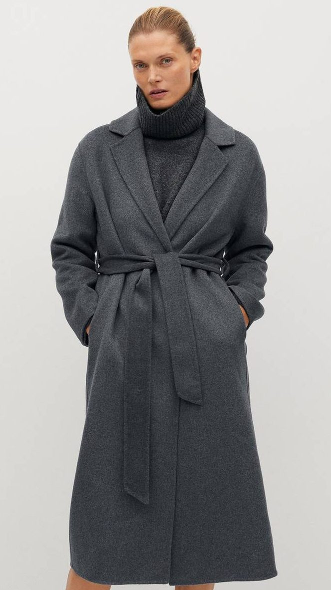 Mango Wool Coat