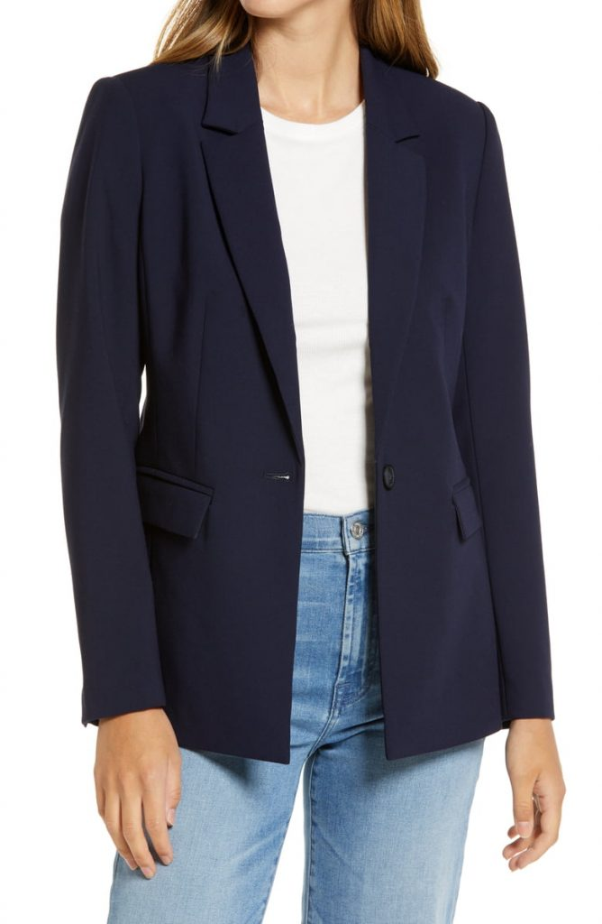 Halogen Pocket Blazer