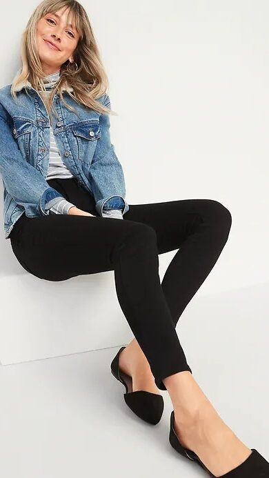 Old Navy High-Waisted Built-In Warm Rockstar Jeggings