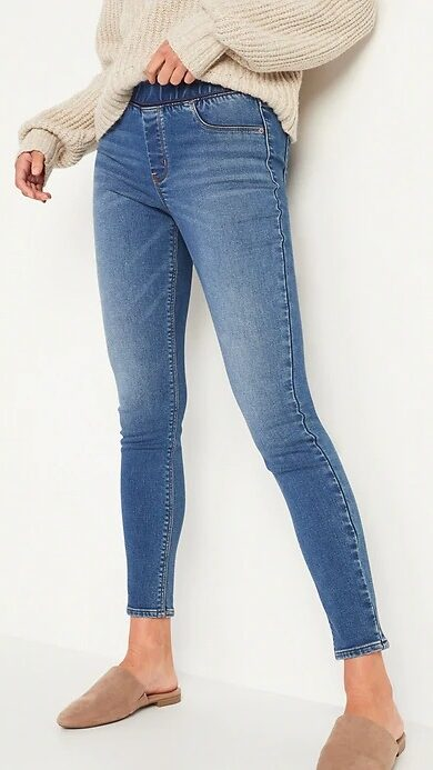 Old Navy Mid-Rise Rockstar Warm Jeggings for Women
