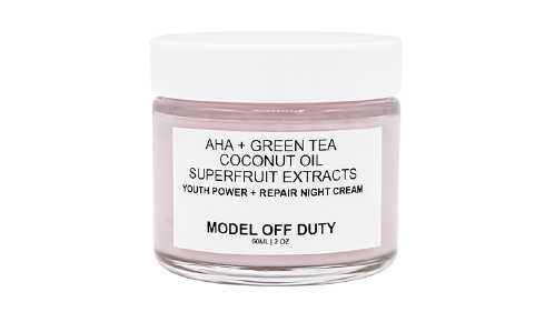 get rid of neck wrinkles with model off duty beauty cream