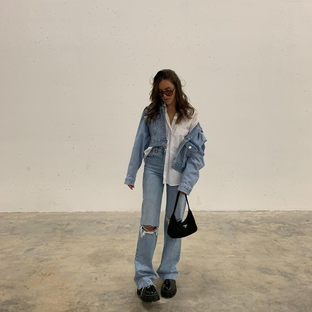 spring 2021 denim trends